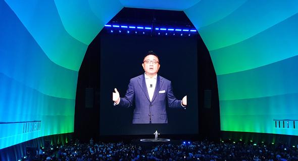 סמסונג 5g אירוע נוט 10, צילום: ניצן סדן