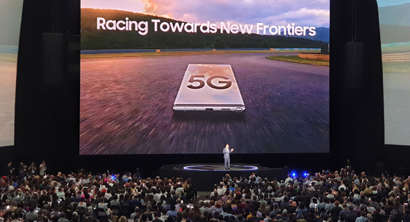 5G is coming and creating plenty of controversy on the way. Photo : Nitzan Sadan