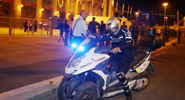 קטונוע משטרתי, צילום: ראובן שוורץ