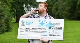 דין וויימס Dean Weymes זוכה לוטו בריטניה 1, צילום: National Lottery