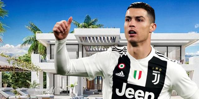 משחק בטורינו, נופש בספרד - רונלדו קנה וילה במרביאה ב-1.6 מיליון דולר