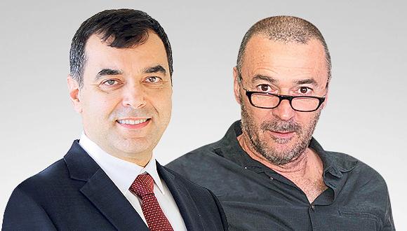 מריוס נכט ואמנון שעשוע, צילום: אוראל כהן