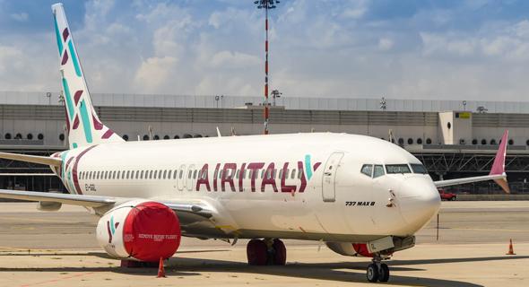 מטוס של אייר איטליה, צילום: Shutterstock
