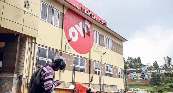 מלון OYO במדינת טמיל־נאדו, הודו. הרשת השלישית בגודלה בעולם, צילום: Dhiraj Singh