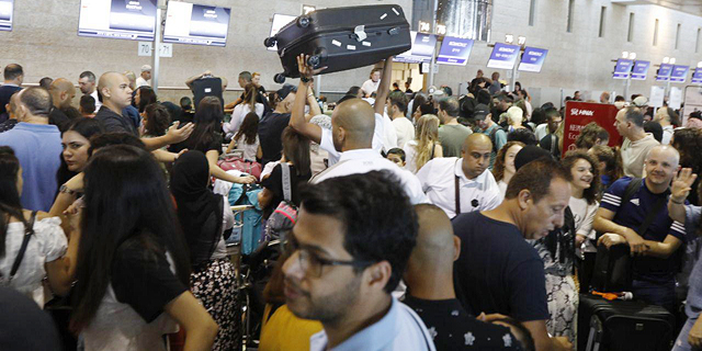 יותר מדי נוסעים? רשות שדות התעופה תמשיך לעבות את מערך השאטלים בשדה