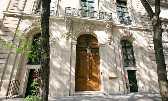 ביתו של ג'פרי אפשטיין ב-Upper East Side