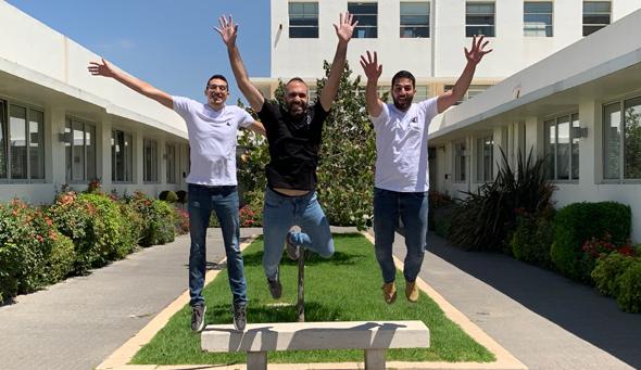 Vicarius co-founders. Photo: Vicarius