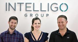 ועידת לונדון 2019 Intelligo Co-Founders שלמה מירוויס דנה רקובסקי ו נדב אלינסון