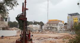 קרקע בפרויקט יונייטד שרונה בתל אביב , צילום: אוראל כהן