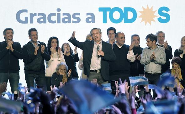 מועמד האופוזיציה בארגנטינה אלברטו פרננדס