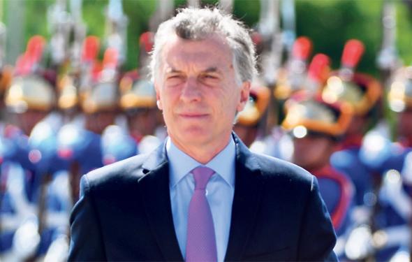 נשיא ארגנטינה מאוריסיו מקרי. הבטיח לדבוק בתוכנית הכלכלית