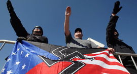 Neo-Nazis. Photo: AFP