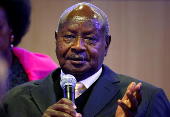 שליט אוגנדה יוורי מוסווני