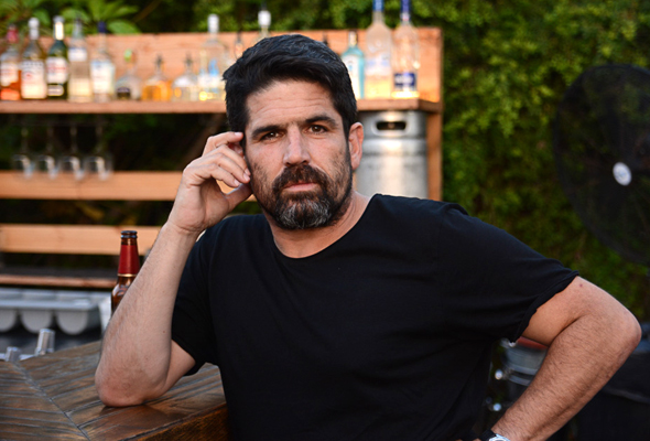Ben Alfi CEO and Founder of Blue White Robotics Photo: Shir Cohen