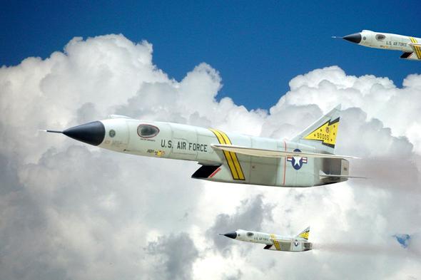 מטוס ה-XF103, צילום: modellingnews
