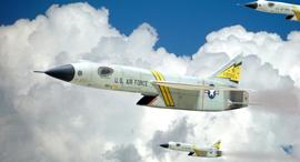 הקברניט המלחמה הקרה ריפבליק XF103, צילום: modellingnews