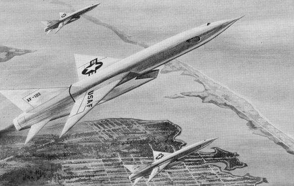 מבנה מטוסי XF103