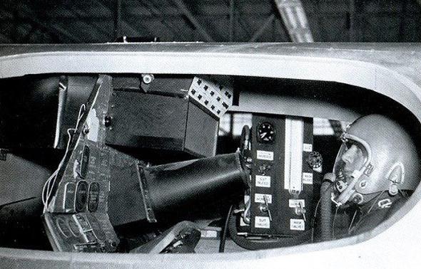 תא הטייס של ה-XF103