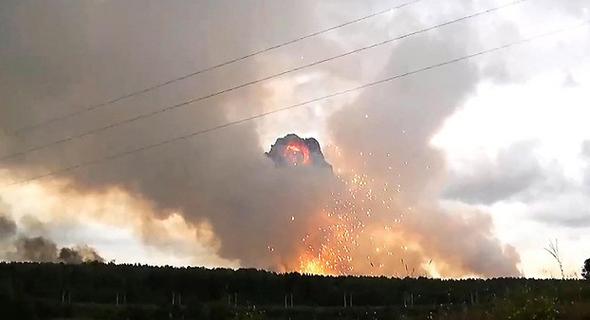 הפיצוץ בצפון רוסיה, צילום: MCT