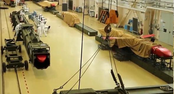 טיל הסקייפול במערך ייצור ברוסיה, צילום: CEN
