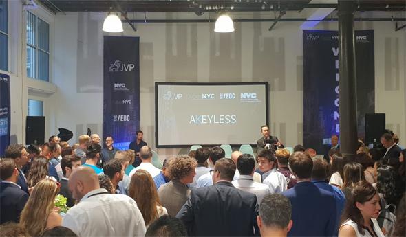 מצגת של חברת Akeyless באירוע, צילום: Amit Elkayam, AJR Photography