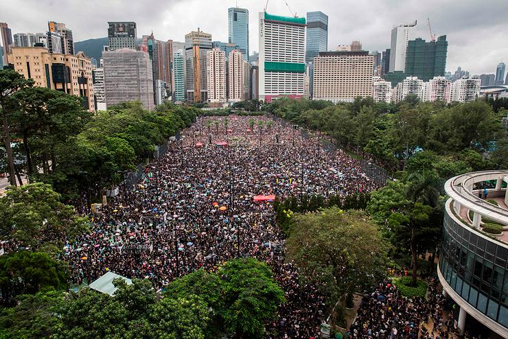 המהומות בהונג קונג