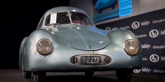 70 מיליון במקום 17? למה בוטלה המכירה הפומבית של מכונית פורשה משנת 1939
