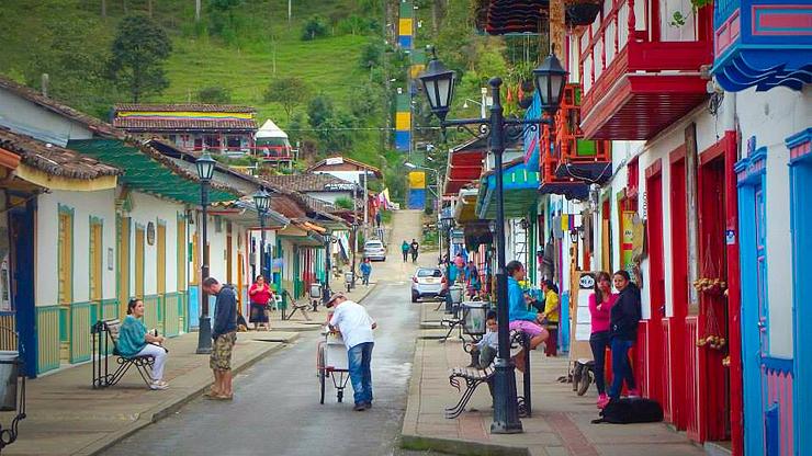 סלנטו, קולומביה, צילום: Hostelworld