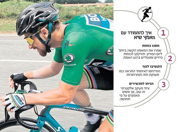 רוכב האופניים פטר סגאן בטור דה פראנס