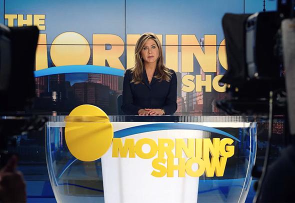 אניסטון ב-the Morning Show, צילום: Apple