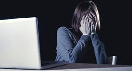 סחיטה מקוונת פורנו נקמה בריונות רשת שנאה פחד, צילום: שאטרסטוק