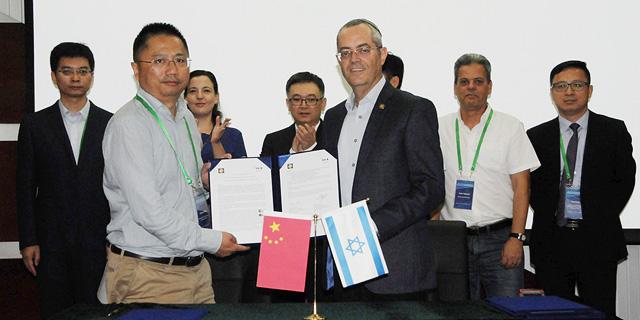 אקדמיית המדעים הלאומית של סין תקים מרכז מצוינות בבר אילן