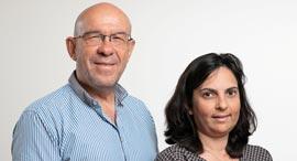 """עו""""ד עמוס בנצור ו לימור טרסי חן, צילום: ענר גרין"""