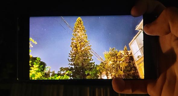 צילום לילה של גלקסי Note 10 plus