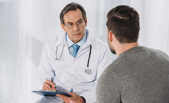 Men's health doctor (illustration). Photo: Shutterstock