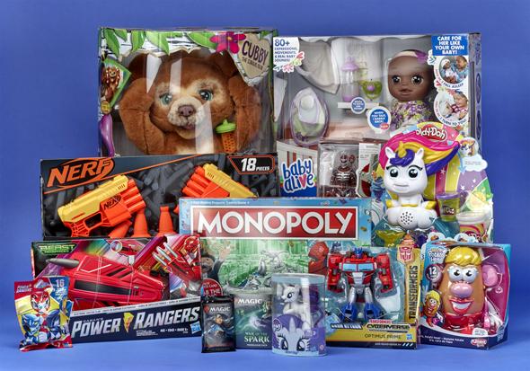 צעצועים ומשחקים של הסברו