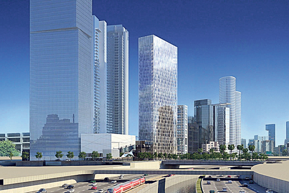 Image of Azrieli's Town building. Photo: View Point