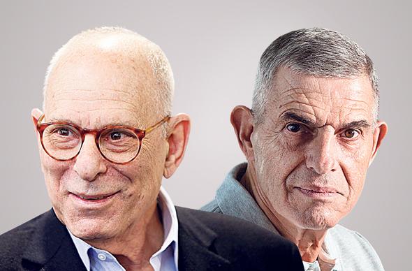 """מימין: יבואן יונדאי שמואל חרל""""פ ויבואן קיה רמי אונגר, צילומים: עמית שעל"""