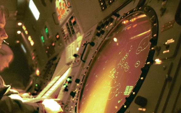 """""""קומראד קפטן, בוא מהר, אתה חייב לראות את זה"""", צילום: USAF"""
