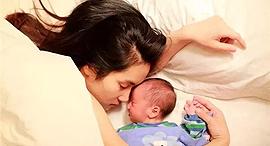 אם סינית ותינוקה, צילום: Waibo