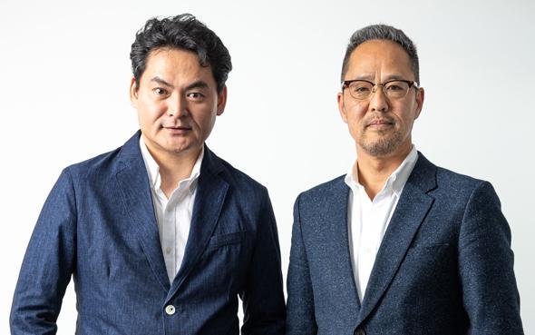 AT Partners co-founders Jun Tosabayashi (left) and Nobuyuki Akimoto. Photo: AT Partners