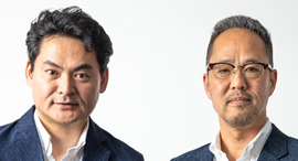 AT Partners co-founders Jun Tosabayashi (left) and Nobuyuki Akimoto. Photo: AT Partners.