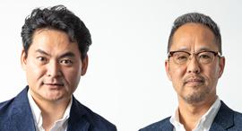 AT Partners co-founders Jun Tosabayashi (left) and Nobuyuki Akimoto. Photo: AT Partners.