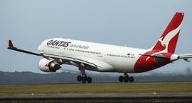 חברת תעופה קוואנטס אוסטרליה טיסות ארוכות Qantas, צילום: בלומברג