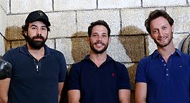 מימין ליאור סושרד רון פדרמן ודן דואניאס, צילום: שאול גולן