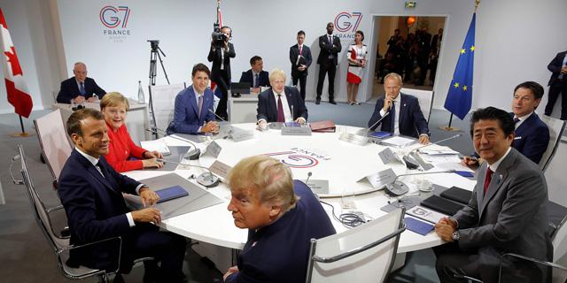 כינוס ה-G7 הבוקר בצרפת, צילום: איי אף פי