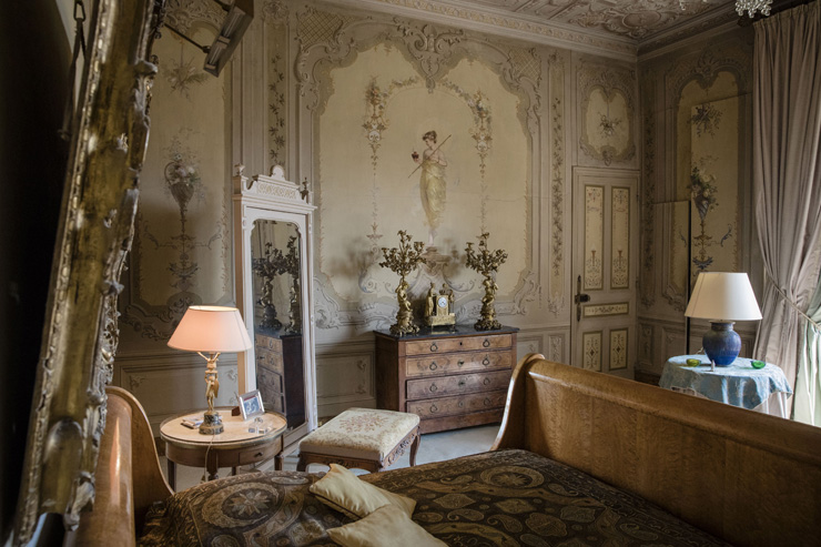 אחד מ-14 חדרי השינה, צילום: בלומברג
