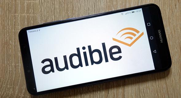 אמזון אודיבל Audible ספר אודיו, צילום: שאטרסטוק