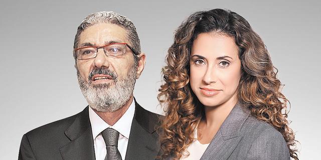 מימין: טל גרנות גולדשטיין וחזי בצלאל. הגיעו לתוצאות שונות, צילום: אוראל כהן, רמי זרנגר