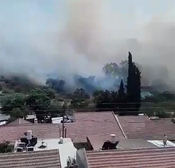 שריפות באזור בית שמש, בתים פונו מצפון לנצרת